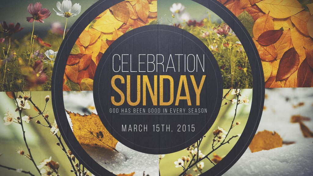 CelebrationSunday