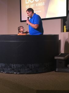 Second Baptism of the New Year!