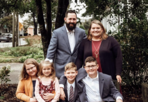 Pastor Trent Cornwell and Family